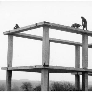 Výstavba nové školy od roku 1988